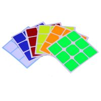 Cubicle 3x3 Half Bright Sticker Set 57mm - Hualong Full Fitted