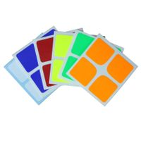 Cubicle 2x2 Half Bright Sticker Set 46mm-DaYan