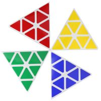 Cubicle Pyraminx Standard Sticker Set 98mm-MoYu