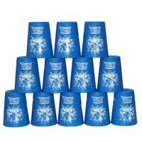 YJ Stacking Cups with Bag - Blue