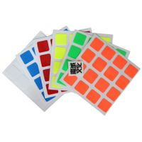 Moyu 4x4 Half Bright Sticker set