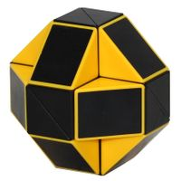 ShengShou Rubiks Snake Black/Yellow