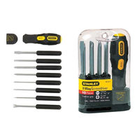 Stanley 62-511-22- 9 Way Screwdriver Set