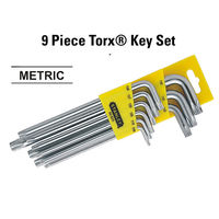 Stanley 9 Pc Torx 92-625- Key Set