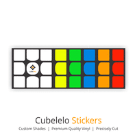 Cubelelo 3x3 YuXin Little Magic Stickers