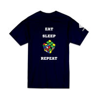 Cubelelo Cube Addict T-Shirt (Navy Blue)