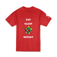 Cubelelo Cube Addict T-Shirt (Red)
