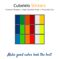 Cubelelo 3x3 55mm Dayan Zhanchi Stickers