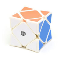 QiYi X-Man Wingy Magnetic Skewb White