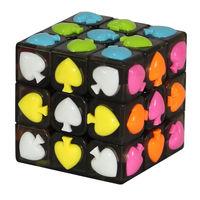 YJ Spade Cube Black