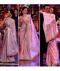 Deepika  Pink Saree