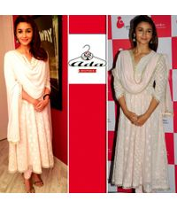 Alia Bhatt Light Pink Dress