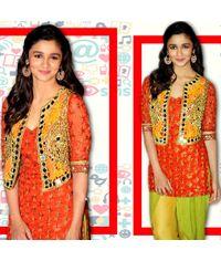 Alia Stylish Phulkari Dress