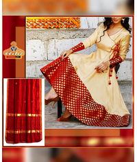 A-Shaped Anarkali Ethnic Dress