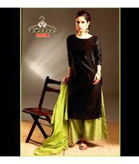 Black / Mehendi Dress