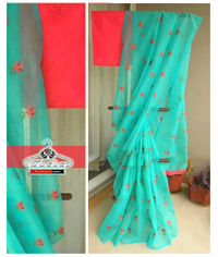 Net Saree Set