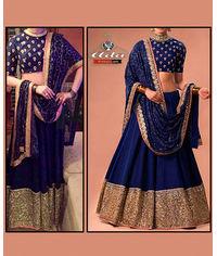 Blue Lehenga Dress