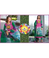 Exclusive Cotton Suit with Stylish Dupatta