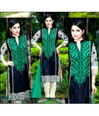Luxury Embroidered Lawn