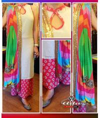 Straight Multicolor Dress