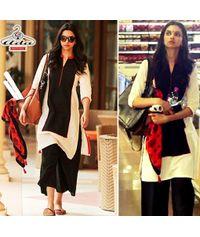 Deepika Black Sizzling Dress