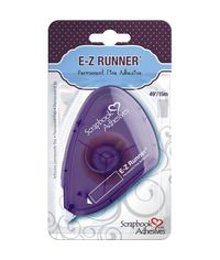 "E-Z Runner Fine Adhesive Permanent, 0.375""X49'"