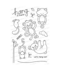 Hanging Around - Stamp