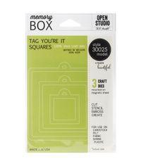 Tag You're It Squares - Die