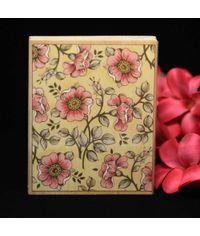 Wild Rose Background wooden Stamp