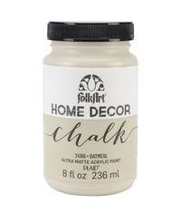 Oatmeal - FolkArt Home Decor Chalk Paint 8oz