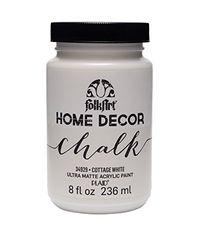 Cottage White - FolkArt Home Decor Chalk Paint 8oz