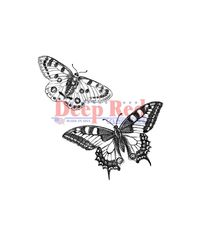 Butterflies Pair - Stamp
