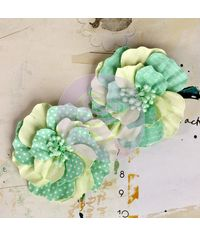 Ascot Park - Snowcone - Mulberry paper flower