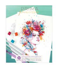 "Princesses Vol. 1 Watercolor Coloring Book 8""X10"""