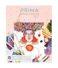 "Princesses Vol. 2 Watercolor Coloring Book 8""X10"""