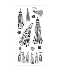 Tassels Clear Stamps