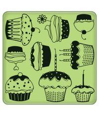 Cupcake Pattern Stamp