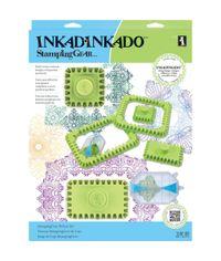 Inkadinkado Stamping Gear Deluxe Set - Square & Rectangle
