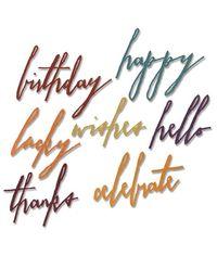 Handwritten Celebrate - Die