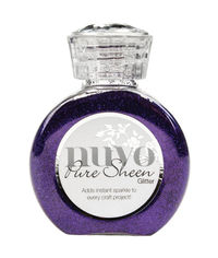 Lilac-Nuvo Pure Sheen Glitter 3.38oz