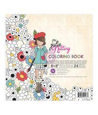 "Dolls Julie Nutting Coloring Book 8""X8"""