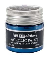 Metallique Blue  - Alchemy Acrylic Paint