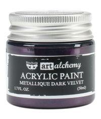 Metallique Dark Velvet - Alchemy Acrylic Paint
