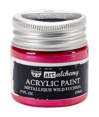 Metallique Wild Fuchsia - Alchemy Acrylic Paint