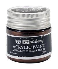 Metallique Black Berry - Alchemy Acrylic Paint