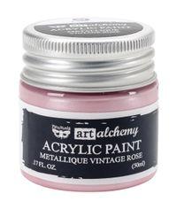 Metallique Vintage Rose - Alchemy Acrylic Paint