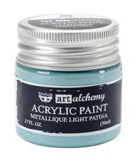 Metallique Light Patina - Alchemy Acrylic Paint
