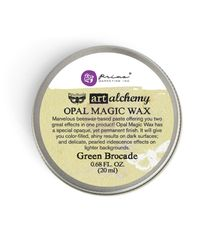 Green Brocade - Opal Magic Wax