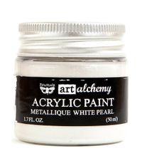 Metallique White Pearl - Alchemy Acrylic Paint