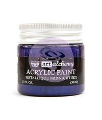 Metallique Midnight Sky - Alchemy Acrylic Paint
